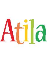 Atila birthday logo