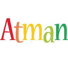 Atman birthday logo