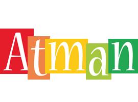 Atman colors logo