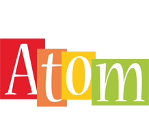 Atom colors logo
