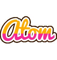 Atom smoothie logo