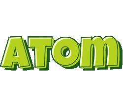 Atom summer logo