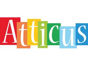 Atticus colors logo