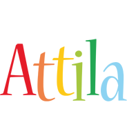 Attila birthday logo