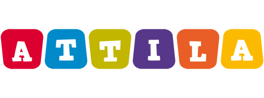 Attila kiddo logo