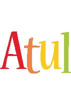 Atul birthday logo