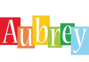 Aubrey colors logo