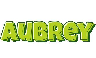 Aubrey summer logo