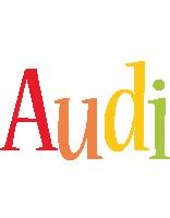 Audi birthday logo