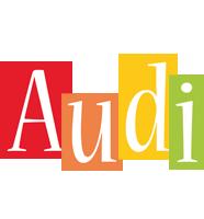 Audi colors logo