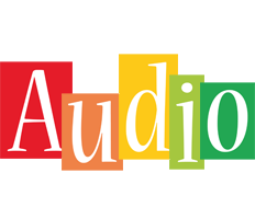 Audio colors logo