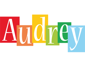 Audrey colors logo