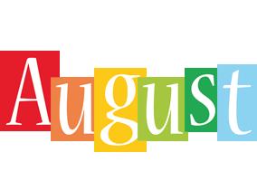 August colors logo