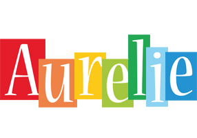 Aurelie colors logo