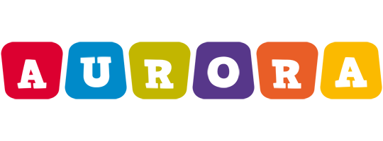 Aurora kiddo logo