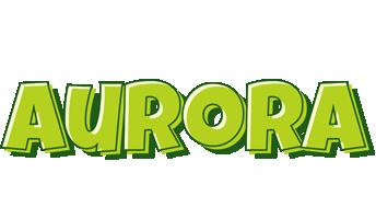 Aurora summer logo