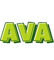 Ava summer logo
