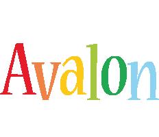 Avalon birthday logo