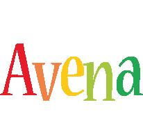 Avena birthday logo