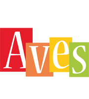 Aves colors logo