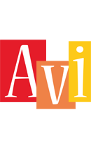 Avi colors logo