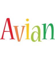 Avian birthday logo