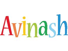 Avinash birthday logo