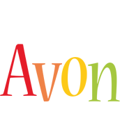 Avon birthday logo
