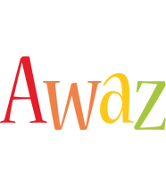 Awaz birthday logo