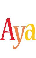 Aya birthday logo