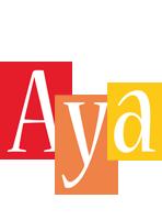 Aya colors logo