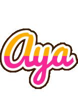 Aya smoothie logo