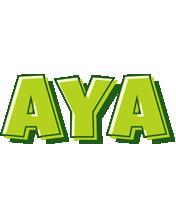 Aya summer logo