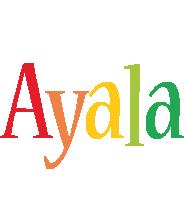 Ayala birthday logo