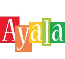 Ayala colors logo