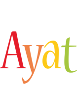 Ayat birthday logo