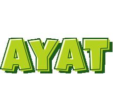 Ayat summer logo