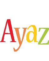 Ayaz birthday logo