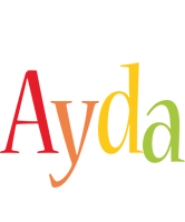 Ayda birthday logo