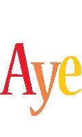 Aye birthday logo