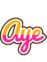 Aye smoothie logo