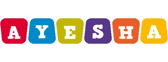 Ayesha kiddo logo