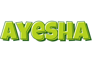 Ayesha summer logo