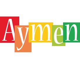 Aymen colors logo
