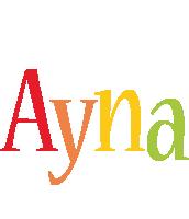Ayna birthday logo