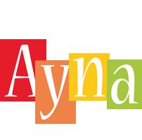 Ayna colors logo