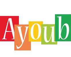 Ayoub colors logo