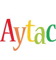 Aytac birthday logo