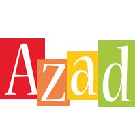 Azad colors logo