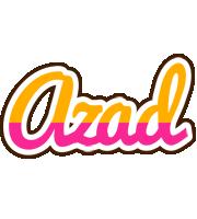Azad smoothie logo